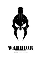 warrior logo, trojan mascot, sparta centurion