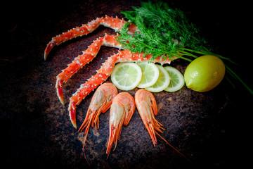 Organic  King Crab Legs