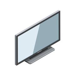 Modern TV 3D isometric
