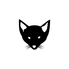head of a fox silhouette icon. Element of animal silhouette for mobile concept and web apps. Detailed a fox icon can be used for web and mobile. Premium icon