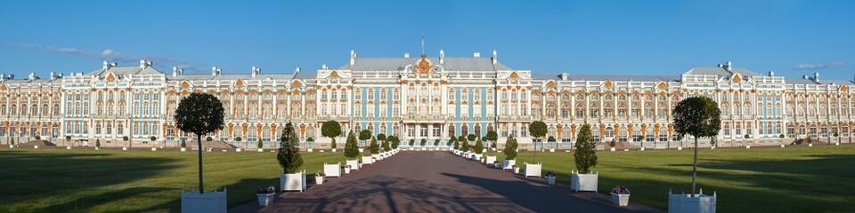 Catherine palace in Tsarskoe Selo, Pushkin, St. Petersburg, Russia Fototapete