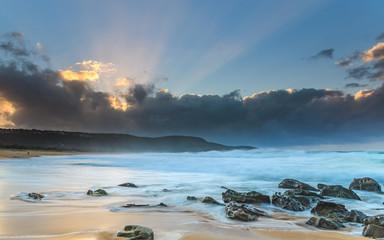 Sunbeams at the Beach - Seascape