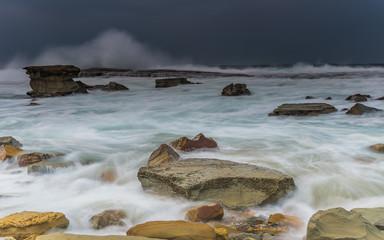 Wild Seas Rocky Seascape