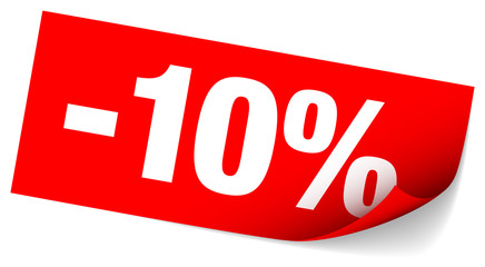 "Sticker Tag ""Sale"" -10%"