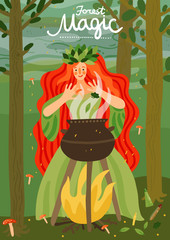 Forest  Fairy-Tale Character