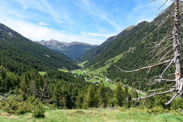 Sunny Day in the Mountains in Andorrra