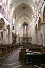 Interior of the Bonaventura Church
