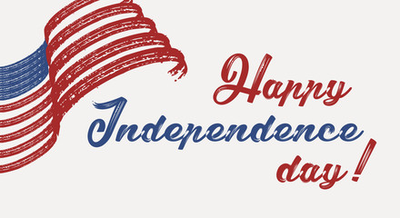 Happy 4th of July - Independence Day of United States of America