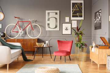 Lucky 5 hipster living room