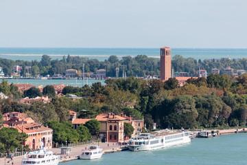 View from Campanile di San Marco in Verona, Italy