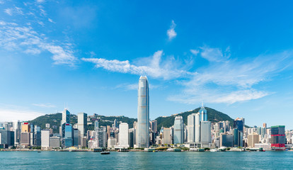 Photo sur Plexiglas Hong-Kong Hong Kong City Scenery