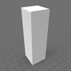 Tall rectangular packaging