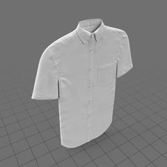 Male button-up shirt