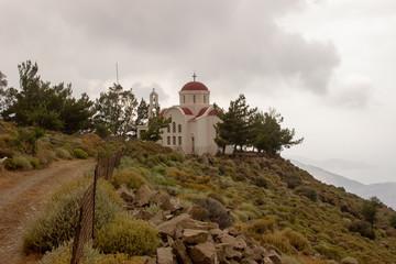 Berg mit Kapelle