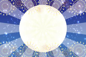 背景素材壁紙,打ち上げ花火,スターマイン,爆発,夏祭り,スターダスト,天の川,キラキラ,光,イメージ