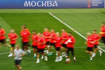 World Cup - Poland Training