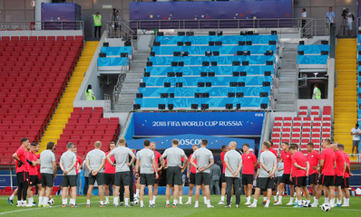 World Cup - Poland Training