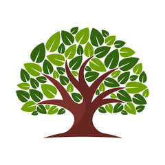 vector illustration icon for tree