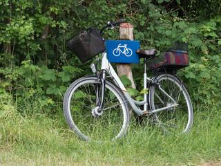 Fahrrad - Radtour - Pause