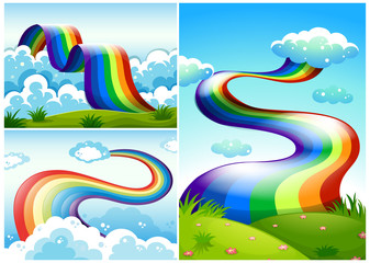 A Set of Rainbow Road