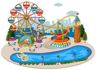 A Map of Fun Fair