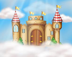A Fairy Tale Castle on Sky