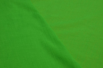 Batiste fabric is green.
