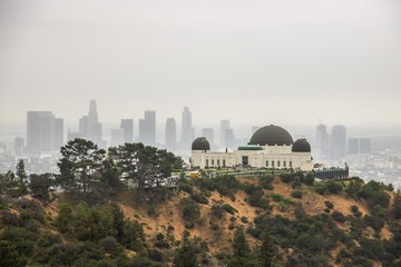 Fotobehang Los Angeles Griffith Observatorium