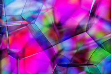Beautiful Soft abstract background of Soap bubbles