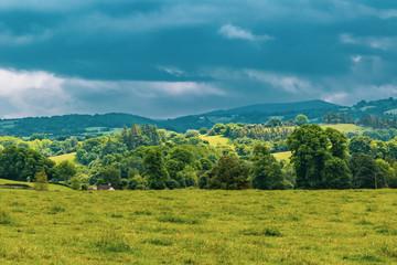 Foto auf AluDibond Karibik The countryside in Dartmoor