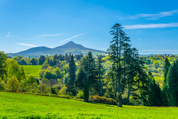 Sugarloaf hill in Ireland
