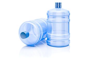 3d water dispenser bottle on White background