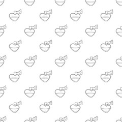 Love potion pattern vector seamless repeating for any web design
