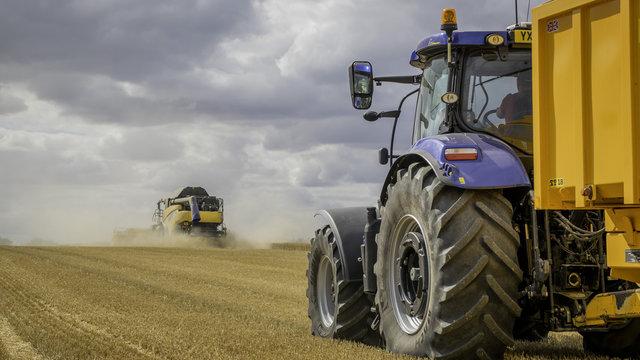 New Holland harvest