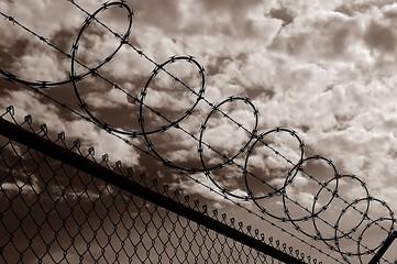 very Dangerous Razor Wire