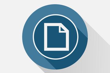Icono azul de documento.