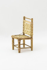 Wooden furniture. Antiques to decorate or furnish the interior of a house.