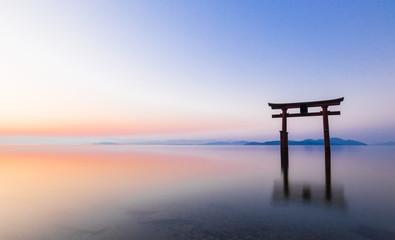 琵琶湖 白髭神社