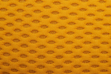 Yellow fabric texture
