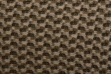Macro of fabric threads