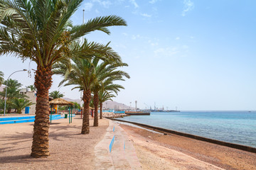 Aqaba beach view, Kingdom of Jordan