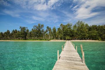 Fotobehang Tropical strand Kood island, Koh Kood, Trat, Thailand