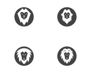 Lion Logo Template vector icon
