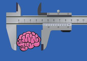 cerveau - QI - concept - intelligence - mesurer - connaissance - quotient intellectuel - savoir