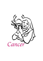 the Cancer woman