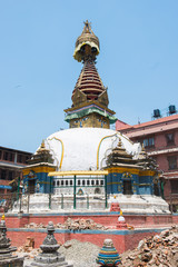Swayambhunath stupa or  popularly known as the monkey temple in Nepal