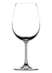Fototapeta ワイングラス-シルエット obraz