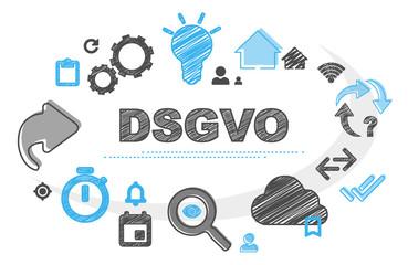 DSGVO | Scribble Concept