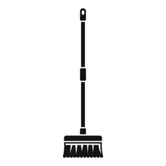 Brush mop icon. Simple illustration of brush mop vector icon for web design isolated on white background