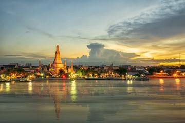 The famous Wat Arun.